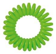 """Резинки для волос """"Пружинка"""" цвет зеленый (3 шт) Dewal Beauty DBR028"""