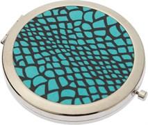 """Зеркало серия """"Дикая природа"""" карманное круглое, d 7 см Dewal Beauty JM-01234C"""