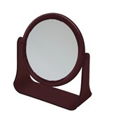 Зеркало настольное в оправе янтарного цвета Деваль Бьюти (Dewal Beauty) MR111