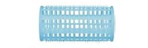 Бигуди пластиковые голубые d 38 мм x 76 мм (10 шт) Dewal Beauty DBPP38