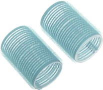 Бигуди-липучки голубые d 28 мм x 63 мм (10 шт) Деваль Бьюти (Dewal Beauty) DBL28