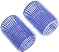 Бигуди-липучки синие d 40 мм x 63 мм (10 шт) Dewal Beauty DBL40