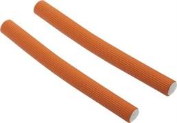 Бигуди-бумеранги оранжевые d 17 мм x 180 мм (10 шт) Dewal Beauty DBB17