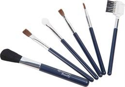 Набор косметических кистей маленький (6 шт) Dewal Beauty BR-04