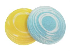 Губка для нанесения макияжа круглая (2 шт) Деваль Бьюти (Dewal Beauty) HM-558Y