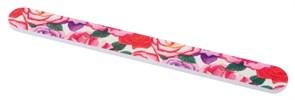 Пилка с рисунком (розы), для ногтей 18 см Деваль Бьюти (Dewal Beauty) 9102747