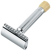 Станок Т- образный для бритья хромированный, с регулировкой угла наклона лезвия Меркур (Merkur) 90500001