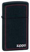 Узкая зажигалка Zippo Classic 1618ZB