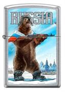 Зажигалка Зиппо (Zippo) 207 RUSSIAN BEAR