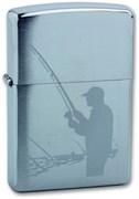 Зажигалка Зиппо (Zippo) 200 Fisherman