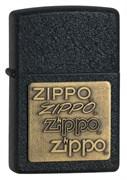 Зажигалка Black Crackle Zippo 362
