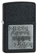 Зажигалка Black Crackle Zippo 363
