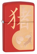 Зажигалка Year of the Pig Design Zippo 29661