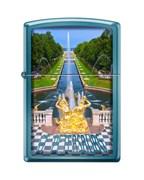 Зажигалка Петергофский фонтан Зиппо (Zippo) 20446 PETRODVORETS