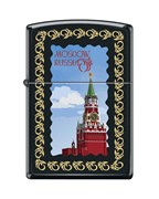 Зажигалка Московский кремль Зиппо (Zippo) 218 MOSCOW KREMLIN FRAMED