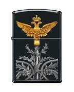 Зажигалка двуглавый орёл Зиппо (Zippo) 218 RUSSIAN COAT OF ARMS