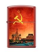 Зажигалка Красная Москва Zippo 233 SOVIET DESIGN