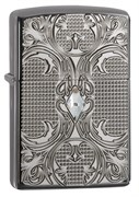 Зажигалка  Armor™ Crystal Lattice Zippo 28956