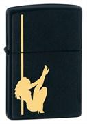 Зажигалка Girl Black Matte Zippo 24892