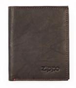 Портмоне Zippo, кожаное, вертикальное, 2005121