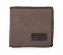 Портмоне из кожи и холщовой ткани Zippo 2005120