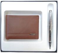 Набор подарочный портмоне и ручка Edge Cross AC018068-3NAB