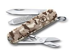 Нож-брелок Classic SD Desert Camouflage Victorinox 0.6223.941
