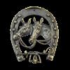 Ключница Подкова большая антик AL-80-307-ANT - фото 186363