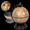 Глобус-бар настольный светлый D=33 см JF-RG-33002-N - фото 186967