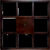 Часы настенные деревянные Ч-19 - фото 187420
