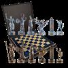"""Шахматы подарочные """"Троянская война"""" MP-S-4-B-36-BLU - фото 199896"""